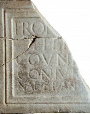 Nagrobna plošča za Frontino
