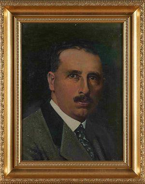 Portret inž. Franja Pahernika