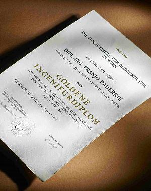 Zlata inženirska diploma