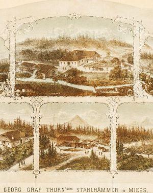 Thurnova jeklarna v Mežici v šestdesetih letih 19. stoletja