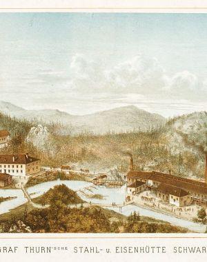 Thurnova jeklarna v Črni v šestdesetih letih 19. stoletja