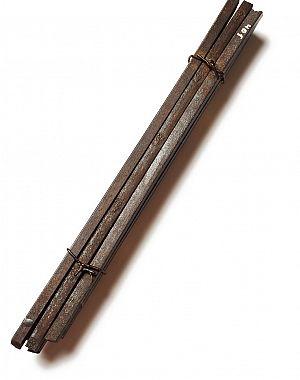 Snop pudlanih jeklenih palic